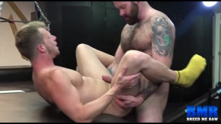 Luke Harrington bare fucks Brian Bonds