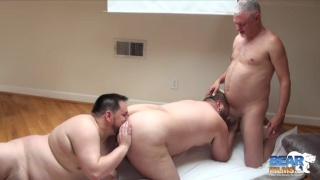 big bear jack power gets spit roasted