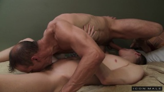 Kory Houston and Rodney Steele 69 sucking each other
