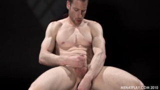 smooth muscled body and hard cock