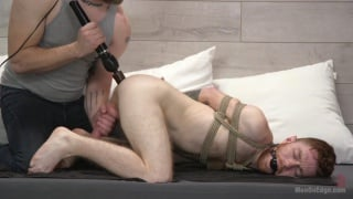 hung ginger gets tied up on hookup goes wrong