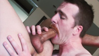 two guys named nate play with their big cocks