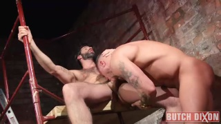 Dani Robles takes wade steel's oversized dick