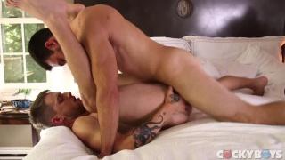 Tayte Hanson gets plowed by jason Maddox