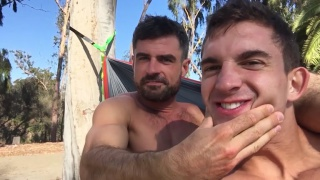 sexy top Daniel fucks muscle bottom Joey