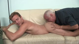 Guy Holiday gets his ass and dick sucked