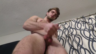 bearded guy lawrence makes his first porno