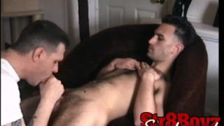 First ever male blowjob