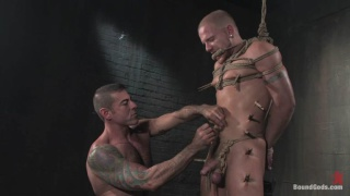 BDSM sex in rubber