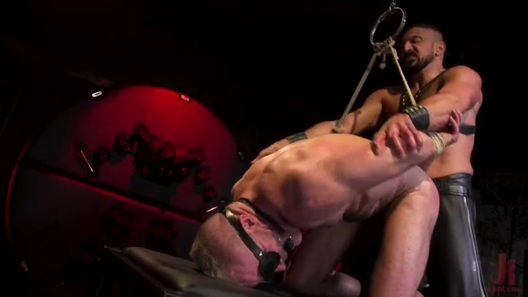 Bound Gods Gay Domination Stud Spencer Reed Shares Rough Metarthunter 1
