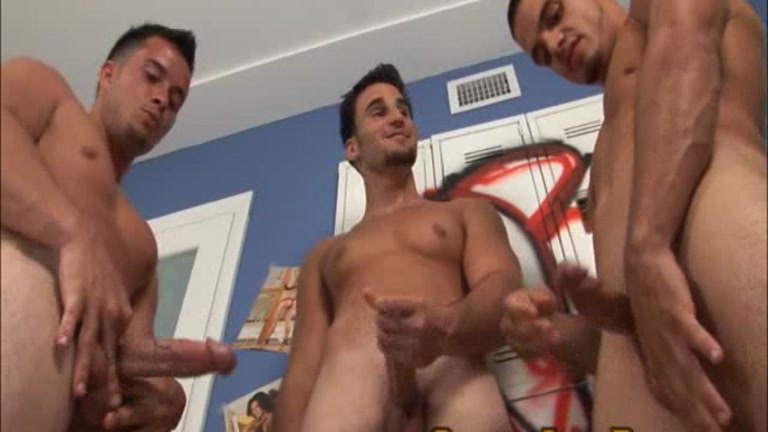 Porn free men masturbate circle jerk