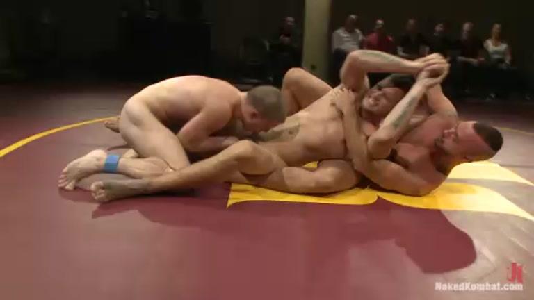 tag team wrestling Naked