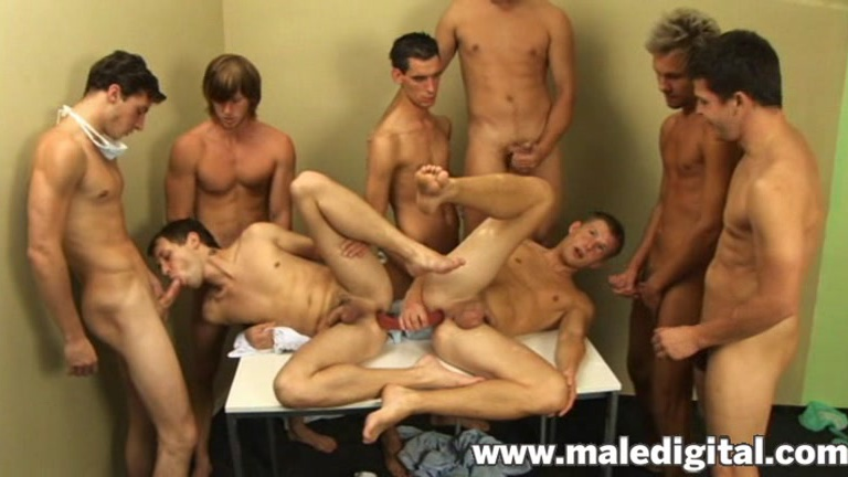Male group sex