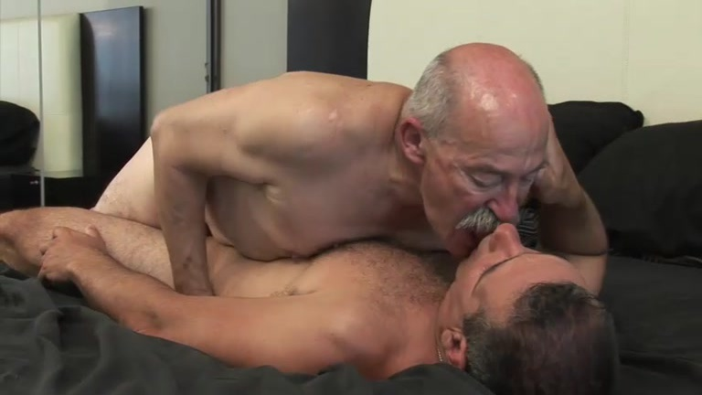 Old men gay video clips