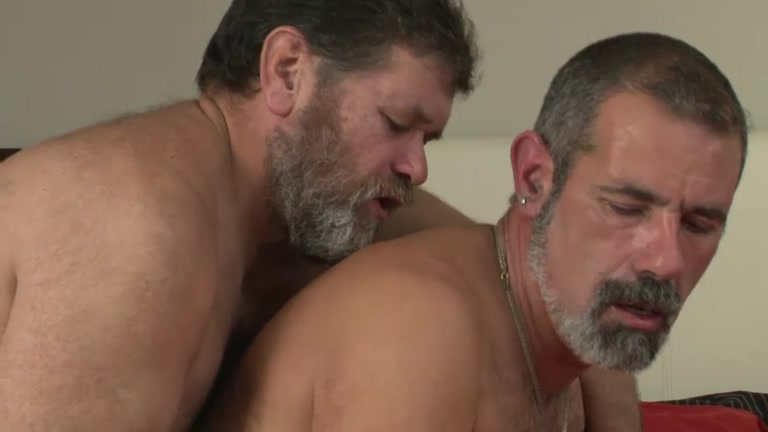 Gay hairy daddy fuck old man