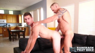 dallas steele fucks his second raw bottom at bareback that hole