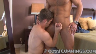 Adam sucks on Cody Cummings dick