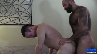 guys talking about how they both love big thick cocks
