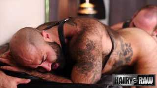 muscle bear embraces his inner daddy