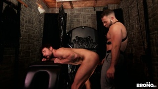 horny bottom begs to be punished by this hung domn