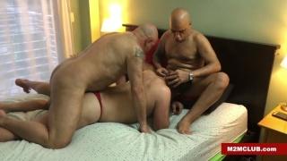 Pussy Boy Is a Greedy Bottom & Wants Both Cocks