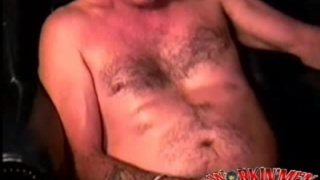 hard and hairy mature man naked