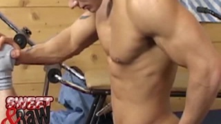 Muscle studs fucking raw