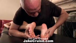 massaging a hot guy