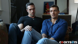 new barebackers Alex Mecum & Carter Dane fucking raw
