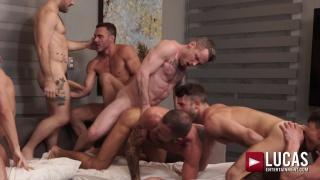 10-man orgy worthy of Caligula himself