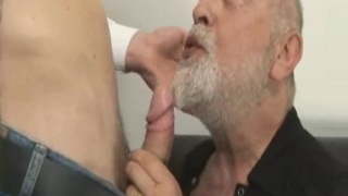 Daddy gay bear fucked by younger man