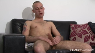 Hung british male amateur gets naked