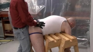 Gay Chub spanked and fucked