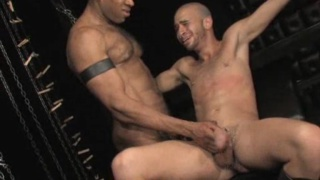 Interracial master and slave