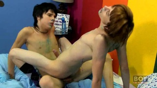 Young Guys Eat Cake and Make Out