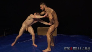 wrestling Naked jocks