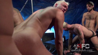 lust-filled, hung men fucking anything that moves