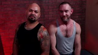 bear men in their thirties & forties fuck each other