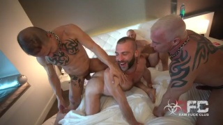 married couple invites two men to a foursome