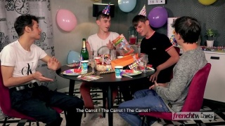 Twink Gets Fucked After His 18th Birthday Party