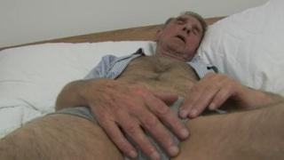 grandad masturbating
