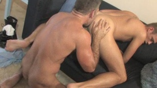 Mature Daddy fucks younger porn star