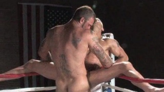 sweaty hard men fuck