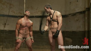 Slave Hung and Whipped