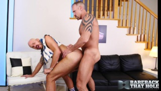 dallas steele bottoms bareback for the first time