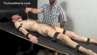 Hairy hippie Dylan is extremely ticklish