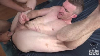interracial sex with nick fitt bottoming for daddy cream