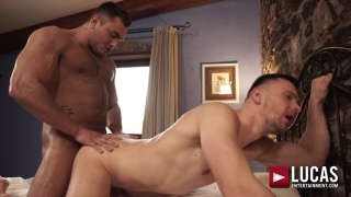 two alpha males take turns bottoming & fucking each other