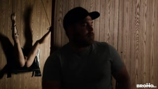 drew dixon gets fucked in a glory hole by bo sinn's huge dick