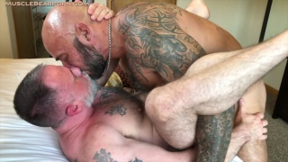 big-dicked biker tears open this daddy's hole?
